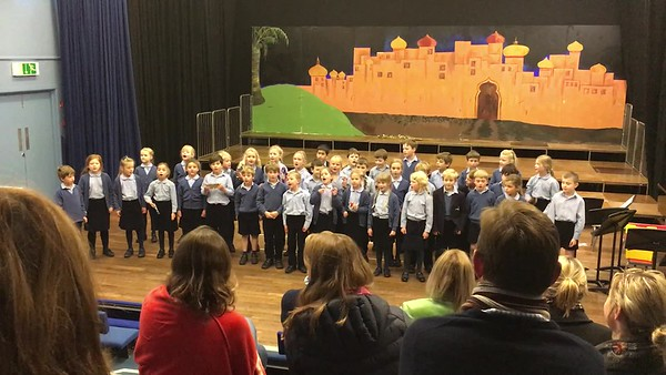 School Singing - Nov 2017