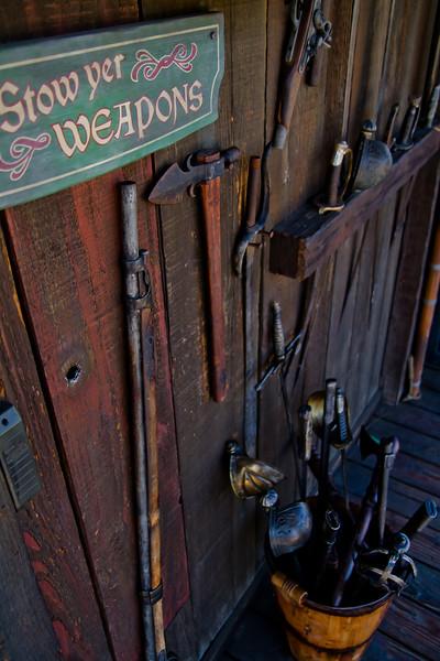 Weapons Storage on Tom Sawyer's Island