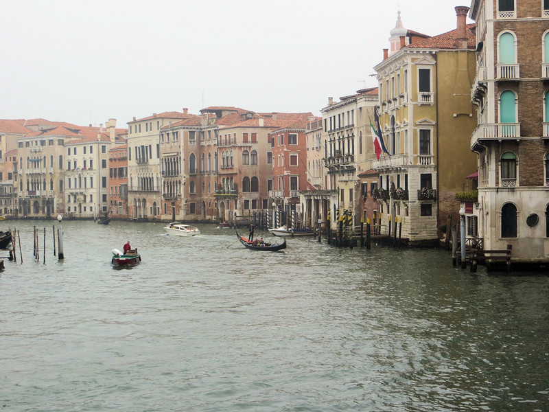 """This is the Grand Canal, Venice's """"main drag."""""""