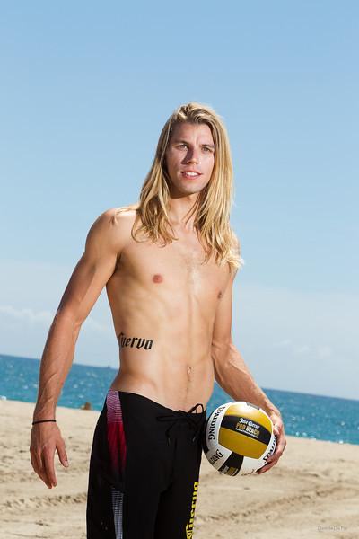 Jose Cuervo Pro Beach Volleyball Player portraits