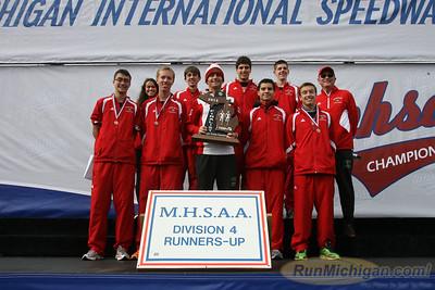 Awards Team, D4 Boys - 2013 MHSAA LP XC Finals