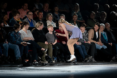 Skaters and the Audience