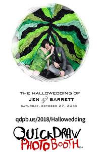 The Hallowedding of Jen & Barrett