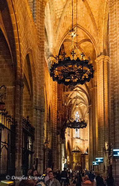 Barcelona: Cathedral interior