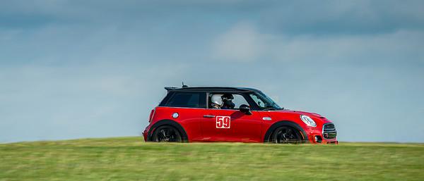 59 Red/Black Mini Cooper