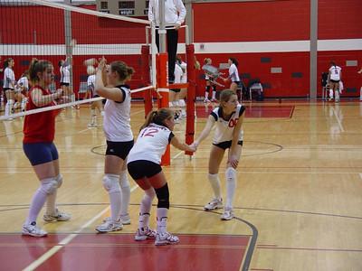 Girls Freshman Volleyball - 2005-2006 - 1/12/2006 vs. Big Rapids