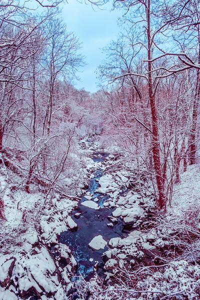 winter arrives