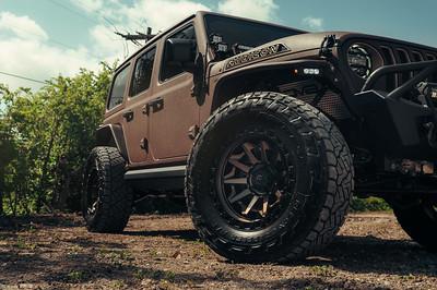 Fuel Wheels x TVE  - Brown Wrangler