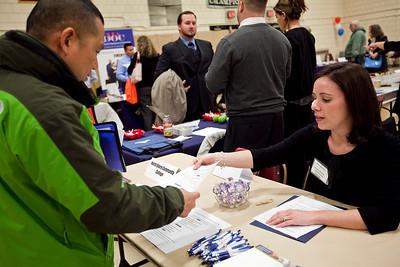 North Shore Community College veterans job fair
