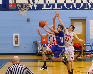 2015-12-30 WHS Boys Basketball vs Spaulding