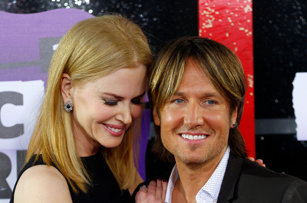 . Nicole Kidman, left, and Keith Urban arrive at the 2013 CMT Music Awards at Bridgestone Arena on Wednesday, June 5, 2013, in Nashville, Tenn. (Photo by Wade Payne /Invision/AP)