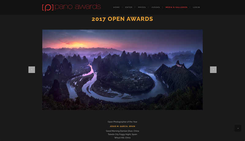 The Epson International Pano Awards. 2017 Photographer of the Year. Jesus M. Garcia Flores