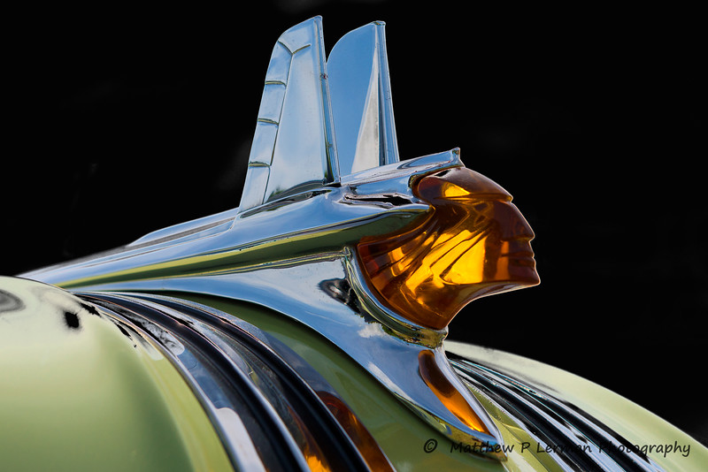 1953 Pontiac Hood Ornament  #707