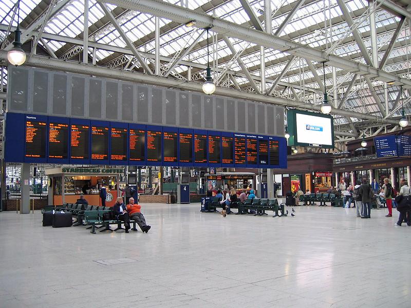 Sept. 30/07 - Central Station, Glasgow.