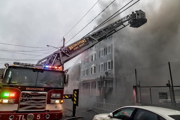 Bridgeport 2nd alarm 370 Olive St. dwelling fire