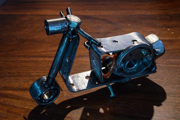 Scrap Metal Scooter