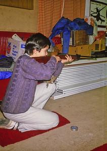 Shooting at Hut
