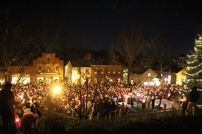 Candle Lighting December 3, 2011