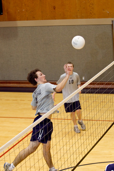 RCS Boys' Varsity Volleyball vs Berean - March 18, 1010