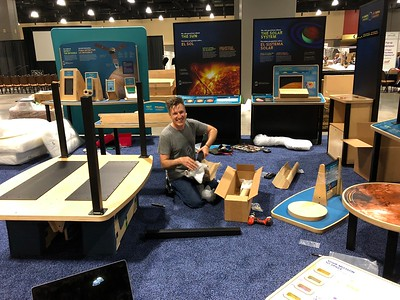 2018 - ASTC  Conference Booth
