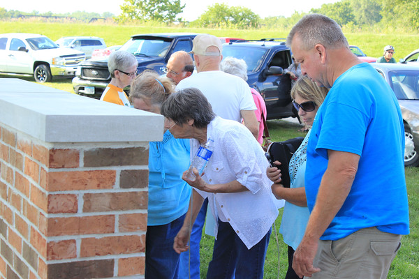 Central Addition memorial rededication