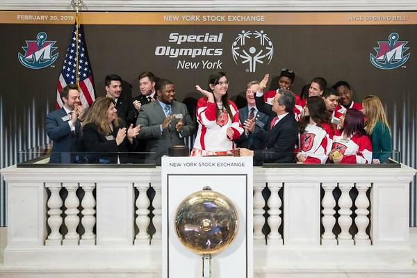 2019 Opening Bell New York Stock Exchange