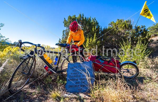 New Mexico - Santa Fe Trail Signs & Monuments