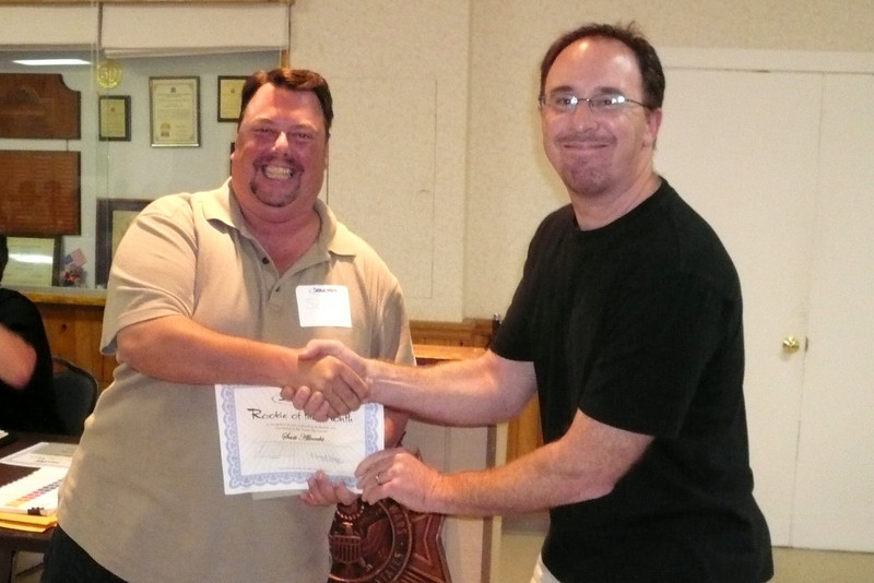 Scott recieving July 2008 Rookie of the month.jpg