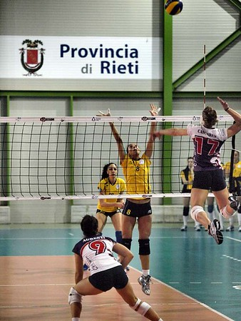 Volley: Polimar Pall. Cittaducale  vs CPF Volley Firenze 3 - 1
