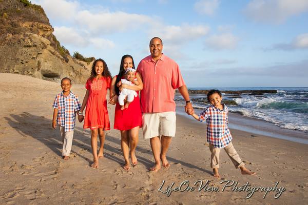 Byron and Melissa Family Beach 2014
