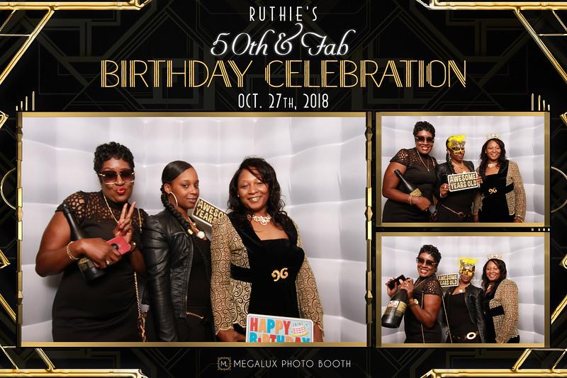 Ruthie's 50th Birthday 10-27-18