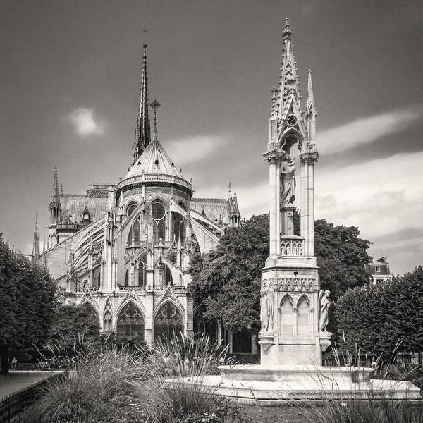 Notre Dame. Rear Side.