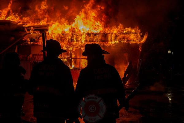 Still & Box Alarm Fire 7100 S. Ashland Avenue June 2020