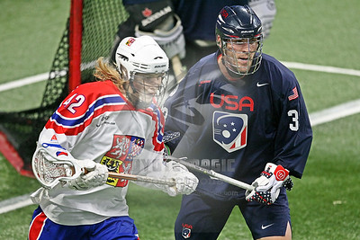 9/25/2019 - Quarterfinal Playoff - Czech Republic vs. USA - Langley Events Centre (Arena), Langley BC, Canada