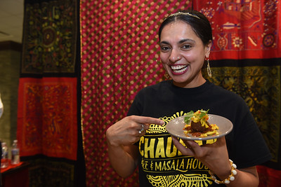 Chef's Table with Celebrity Chef name is Maneet Chauhan
