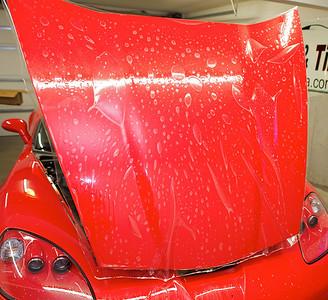 2013 Red Chevy Corvette Grand Sport