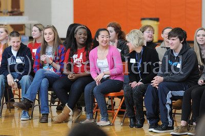 Perk Valley students participate in Challenge Day