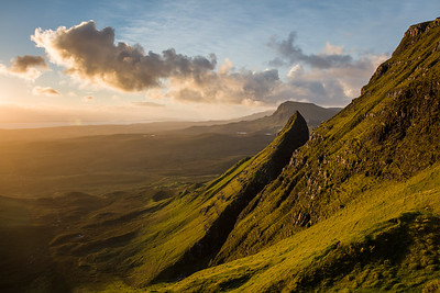 Morning light in the Quiraing