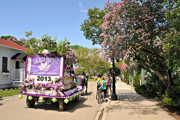 Mackinac Island Lilac Parade 2013
