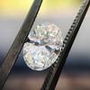 1.05ct Oval Cut Diamond GIA H SI1 4