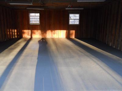 Garage slab done
