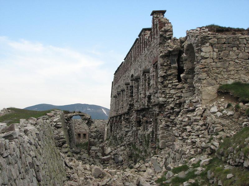 De restanten van Fort Giaure