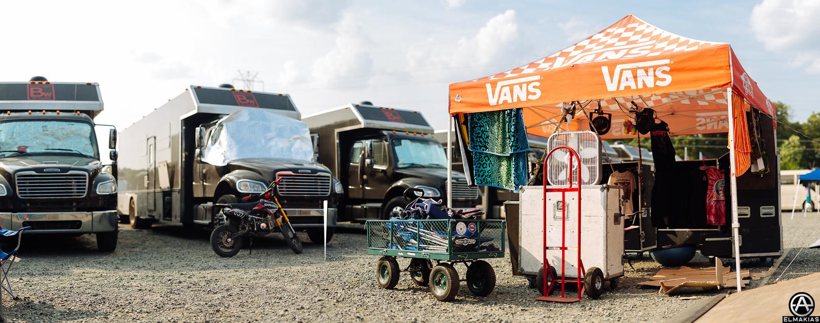 Trucks at Warped Tour 2015 by Adam Elmakias