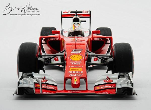 2016 F1 Ferrari, 1:18 scale