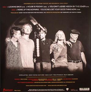 Limited Edition Album Back Cover - Kenny Wayne Shepherd Band