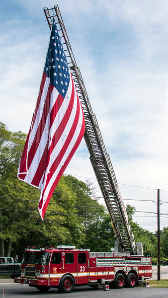 Funeral of FF Welch - August 14, 2017