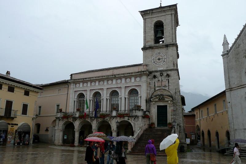 Palazzo Comunale. Norcia, Umbria