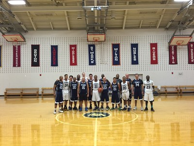 Alumni Basketball Game