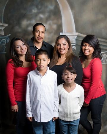 Lopez Family 12-7-09