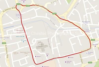 City Centre NE Map